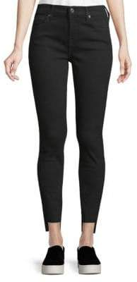 7 For All Mankind Cut-Out Skinny Jeans