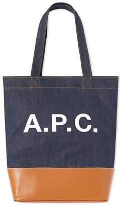A.P.C. Axel Denim Tote Bag