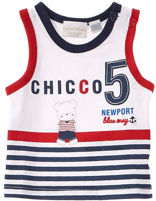 Chicco Boys' Blue & White Tank