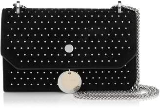 Jimmy Choo Leather Studded Finley Cross Body Bag
