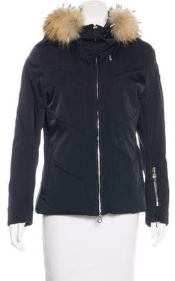 Marker Hooded Two-Way Jacket