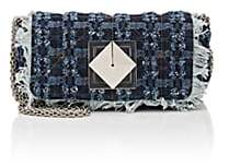 Sonia Rykiel Women's Le Copain Denim Chain Shoulder Bag - Blue