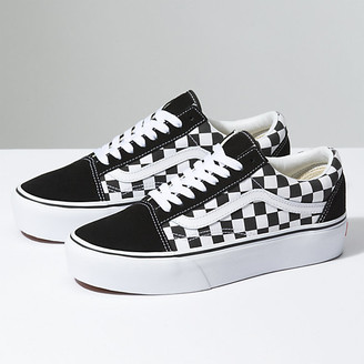 dc37656134c Checkerboard Old Skool Platform. Vans Checkerboard ...