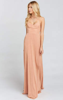 Show Me Your Mumu Godshaw Goddess Gown ~ Dancing Queen Shine Copper