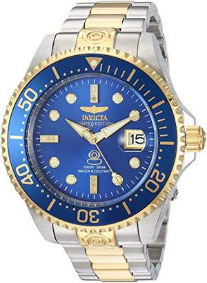 Invicta Men's 'Pro Diver' Automatic Stainless Steel Diving Watch