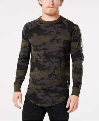 G Star Men's Long-Sleeve Camo T-Shirt, Created for Macy's