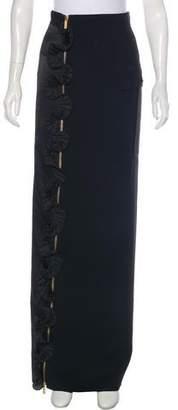 Ungaro Pleated Maxi Skirt
