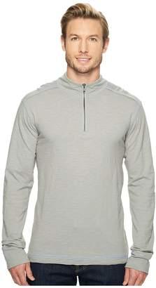 Ecoths Black Rock 3/4 Zip Shirt Men's Long Sleeve Pullover