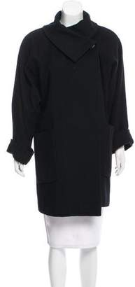 Christian Dior Wool Knee-Length Coat