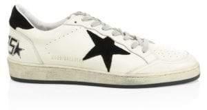 Golden Goose Ballstar Leather Sneakers