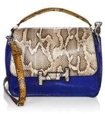 Tod's Double T Amu Leather Crossbody Bag