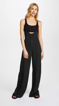 Alexander Wang Pintstriped Jumpsuit