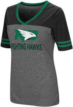 Dakota Women's Campus Heritage North Fighting Hawks Varsity Tee