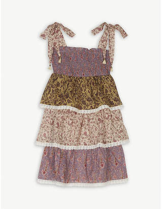 Zimmermann Tiered floral dress (4-10 years)