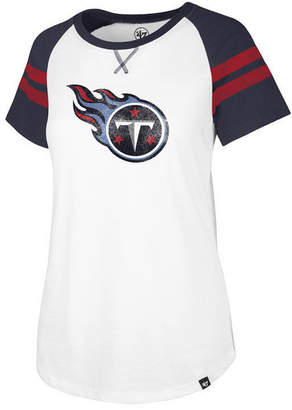 '47 Women's Tennessee Titans Flyout Raglan T-Shirt