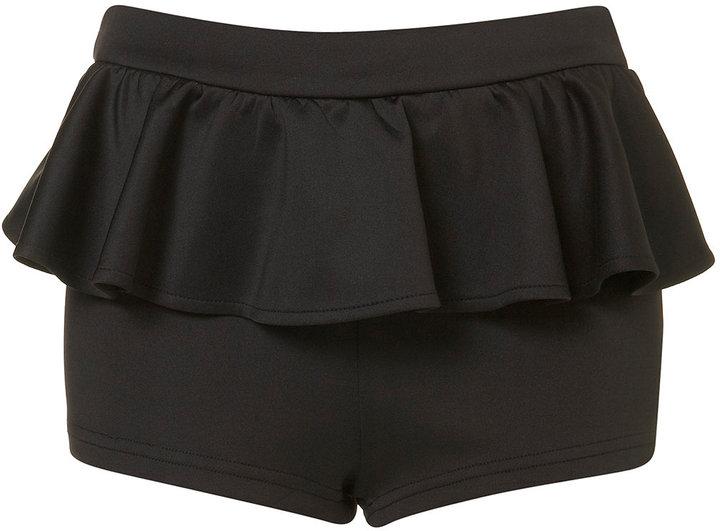 **Peplum Shorts by Rare