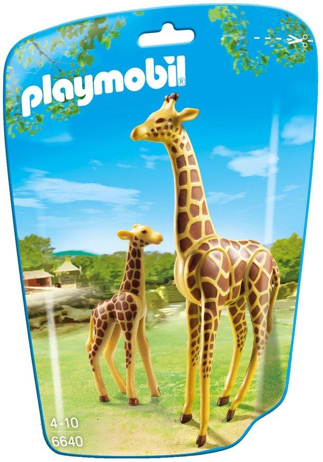 Playmobil Giraffe with Calf Building Kit