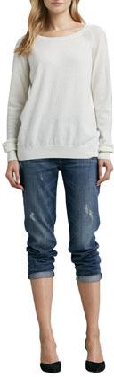 Vince Many Winter Wrecked Boyfriend Jeans