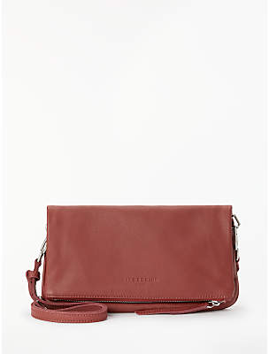 Liebeskind Berlin Aloe Leather Cross Body Bag, Phonebox Red