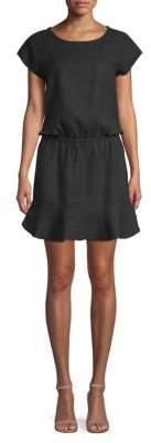 Joie Quora Blouson Flounce Dress