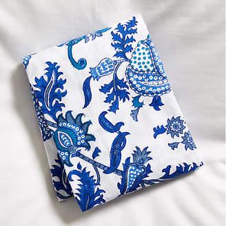 Amanda Fitted Crib Sheet - Blue - Roller Rabbit