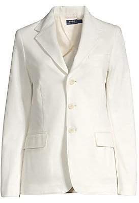 Polo Ralph Lauren Women's Single-Breasted Blazer - Size 0