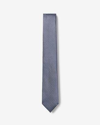 Express Narrow Dot Print Tie