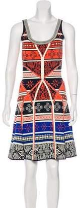 Diane von Furstenberg Sleeveless Flared Dress