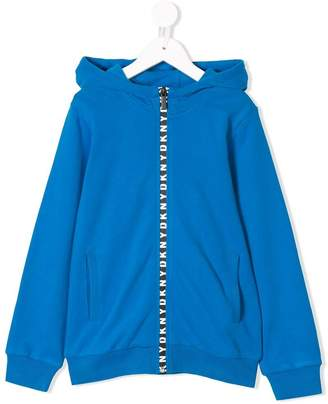 DKNY (ディー ケー エヌワイ) - Dkny Kids full-zipped hoodie