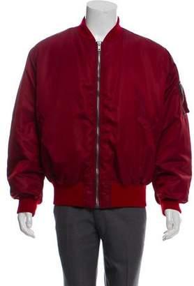 Calvin Klein Embroidered Bomber Jacket