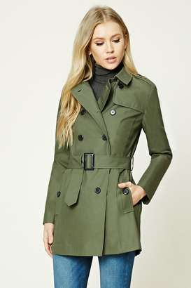 FOREVER 21+ Classic Trench Coat $42.90 thestylecure.com