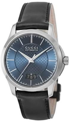 uk availability 4e089 244b4 Gucci(グッチ) ブルー メンズ 時計 - ShopStyle(ショップスタイル)