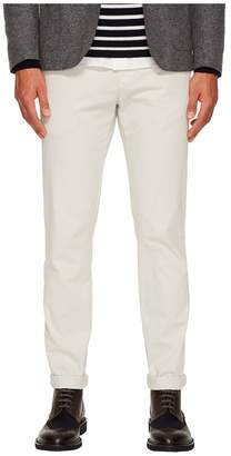 Eleventy Flat Front Regular Fit Stretch Cotton Pants Men's Casual Pants