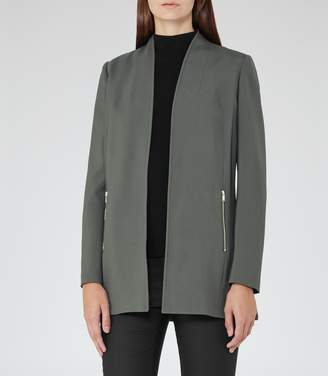 Reiss Joy Open-Front Jacket