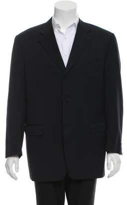 Canali Wool Three-Button Blazer