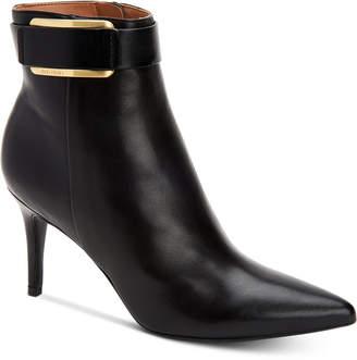 Calvin Klein Georgene Booties, Women Shoes