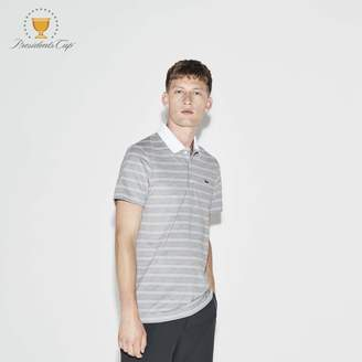 Lacoste Men's SPORT Presidents Cup Edition Contrast Neck Polo