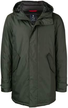 Fay hooded parka coat