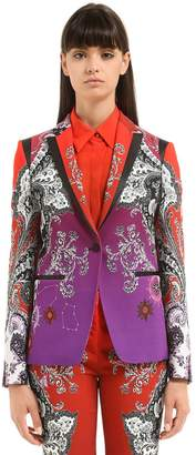 Roberto Cavalli Gradient Printed Jacket