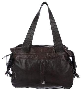 Francesco Biasia Smooth Leather Shoulder Bag