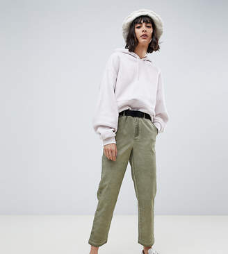 Asos (エイソス) - ASOS DESIGN chinos in oil wash with belt