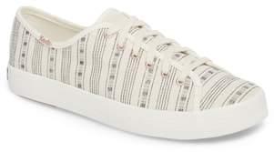 Keds R) Kickstart Summer Stripe Sneaker