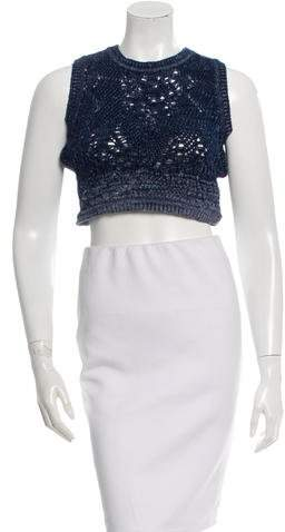 Christian Dior Knit Crop Top