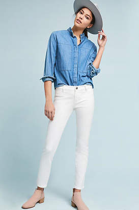 MiH Jeans Paris Mid-Rise Straight Cropped Jeans