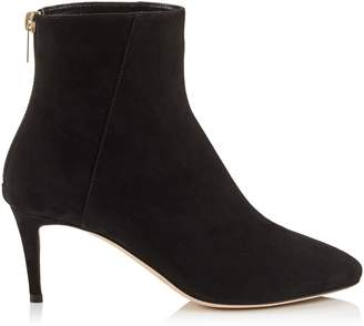 Jimmy Choo DUKE 65 Black Suede Ankle Boots