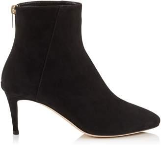 Jimmy Choo DUKE 65 Black Suede Ankle Boots