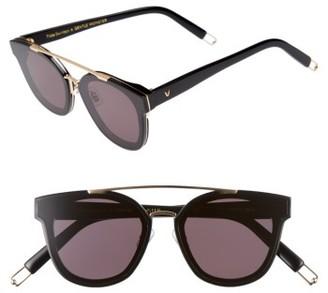 Women's Tilda Swinton X Gentle Monster Newtonic 60Mm Rounded Sunglasses - Black $286 thestylecure.com