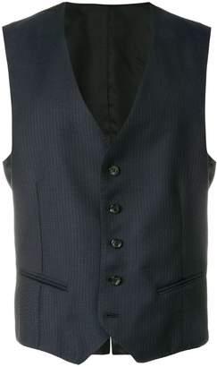 Tonello Claudio pinstripe waistcoat