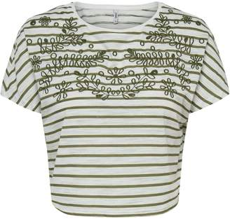 Only Embroidered Roundneck Tee