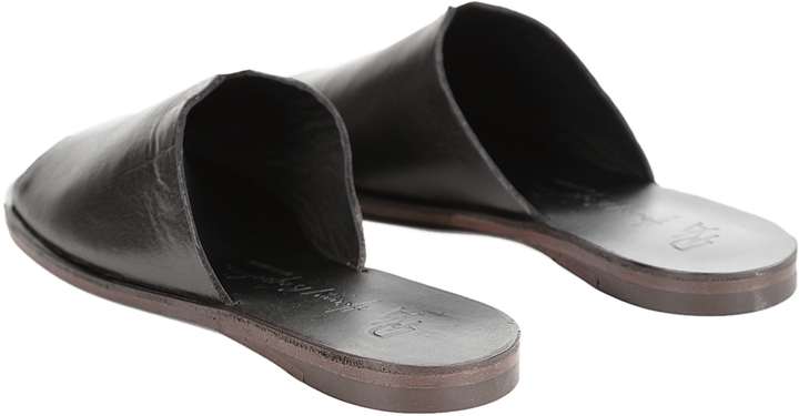 Henry Beguelin Leather Sandal Slip-Ons